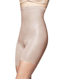 SP916 Nude/Black In-Power Line Super Higher Power Hosiery Shaper by Spanx