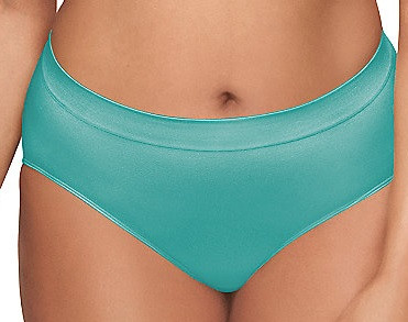 WA834175 Fashion B-Smooth Brief Pantie - Blue Turquoise 317