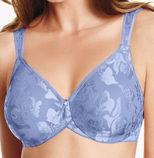 WA85567 Awareness Seamless Underwire Bra - Blue Heron
