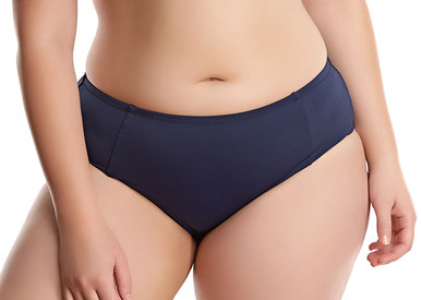 ES7524 Essentials Midnight Mid-Rise Swim Brief by Elomi