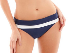 PA1097 Navy Anya Cruise Folded Swim Brief by Panache