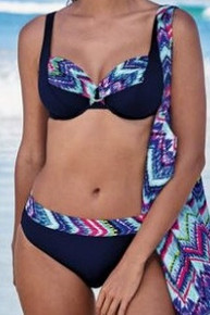 AN8342 Hermine Chevron Tie Dye Underwire Bikini Set by Anita