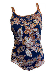 AN6233 Blue Desert Mastectomy One-Piece Swimsuit by Anita