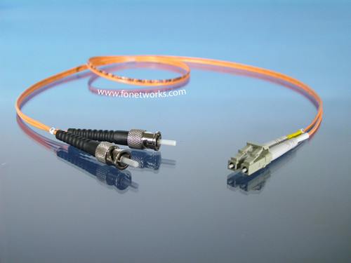 Multimode 50/125 Duplex Cable Assembly LC/ST