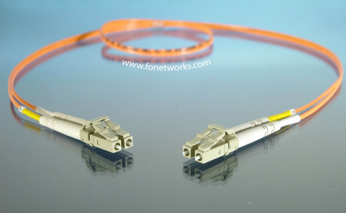 Multimode 62.5/125 Duplex Cable Assembly LC/LC