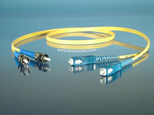 Singlemode Duplex Cable Assembly ST/SC