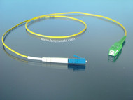 Singlemode Simplex Cable Assembly LC/UPC-SC/APC