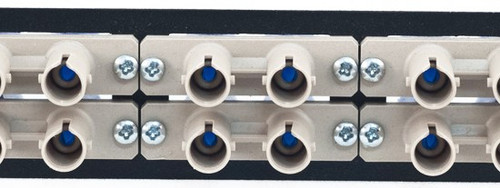 MAP Series Adapter Plates - 12 ST Multimode Duplex Beige