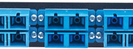 MAP Series Adapter Plates - 12 SC Singlemode Duplex Blue