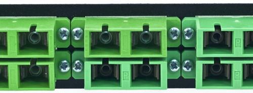 MAP Series Adapter Plates - 12 SC Singlemode APC Duplex Green