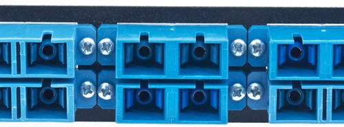 MAP Series Adapter Plates - 12 SC/ST Singlemode Duplex Blue (SC Front/ST Rear)