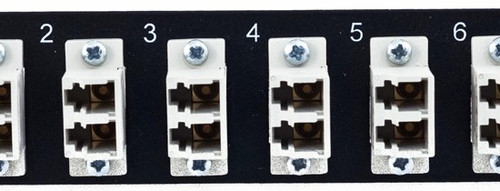 MAP Series Adapter Plates - 12 LC Multimode Duplex Beige
