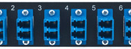 MAP Series Adapter Plates - 12 LC Singlemode Duplex Blue