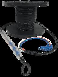 Indoor/Outdoor OFNR OM3 12-72 LC, SC Fiber Trunk Cables