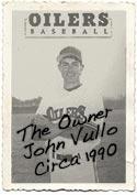 The owner, John Vullo in 1990.