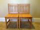 "Child Chair 14"" Honey Brown"