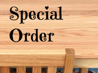 """CHILDREN'S TABLE AND 2 CHAIRS - Table 24"""" H, Chairs 14"""" Seat H - Tried & True Original Wood Finish"""