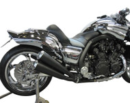 Maxflow 4-2-4 MegaMax Slip On Exhaust - Ceramic Coated Black (09-18 All)