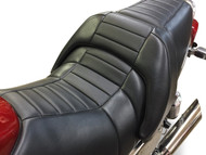 Star Rider Low Seat Conversion - Pleated Carbon Fiber (85-07 All)