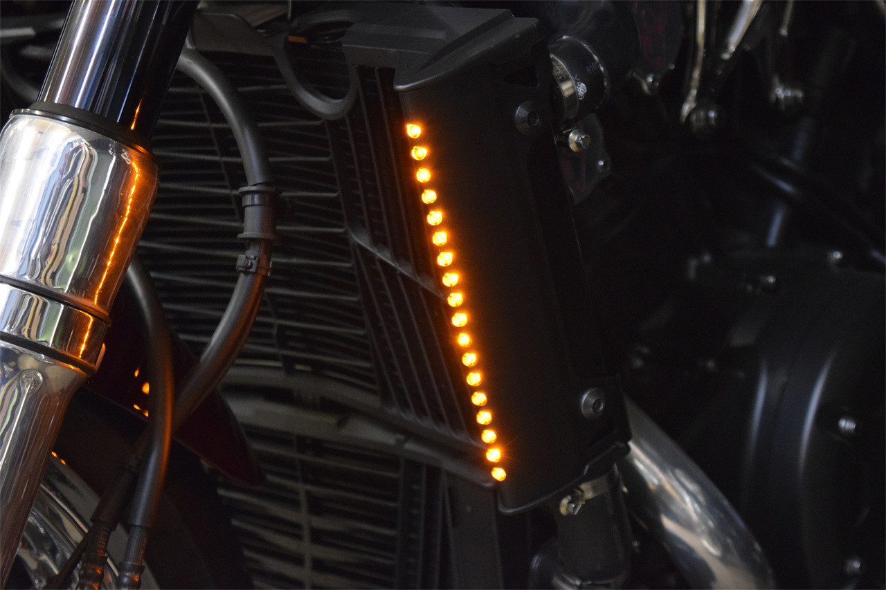 Radiance Led Turn Signals 09 17 All Star Rider Performance Yamaha Vmax Ignition Switch Wiring Image 1