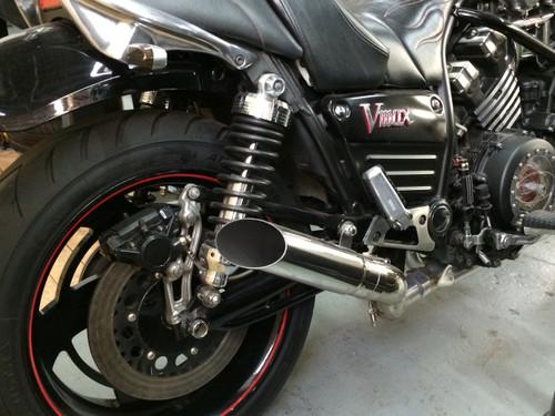 DragStar 4-1 High Performance Full Exhaust System - Yamaha Vmax VMX1200
