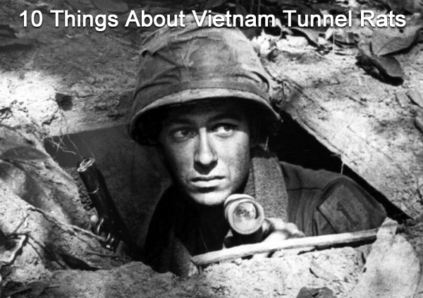 10 Things About Vietnam Tunnel Rats