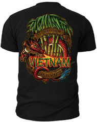 "Men's Army T-Shirt - US Army Vietnam ""ROVS"" Army - Back"