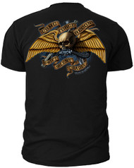 "Men's Marines T-Shirt - USMC Force Recon ""Swift Silent Deadly Marines - Back"