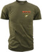 Men's Marines T-Shirt - US Marines FOR OUR NATION - FOR US ALL - Front - Olive