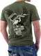 Men's Air Force T-Shirt - US Air Force - GUARDIANS OF FREEDOM - Model - Back