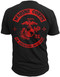 Men's Marines T-Shirt - An American Original US Marines - Back & Red