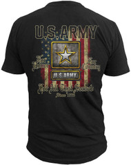Men's Army T-Shirt - US Army For Those That Served - Back
