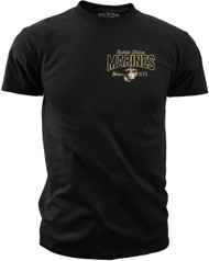 Men's Shirt - Marines For All That Served Men's T-Shirt Front