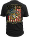 Men's Marines T-Shirt - US Marines For All That Served Back