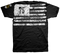 Men's Army T-Shirt - US Army - 75 Flag - Black - Front