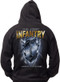 Men's Army Hoodie - US Army Infantry - Locked and Loaded United States Army - Back