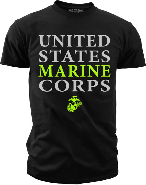 Men's Marines T-Shirt - United States Marine Corps - USMC