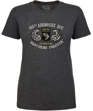 Lady's Army T-Shirt - 101st Airborne US Army - Brothers Forever