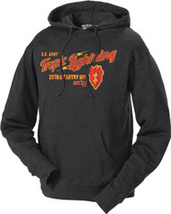 Men's and Lady's Army Hoodie - 25th Infantry Army - Tropic Lightning Retro Hooded Sweatshirt