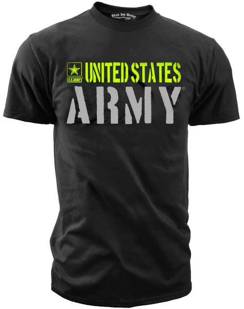 Army T Shirt Design | Army Hi Vis Tshirt Army Wear American Pride Shirts Black Ink