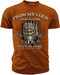 Men's 2nd Amendment T-Shirt - American Pride - From My Cold Dead Hand - Orange