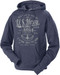 Men's and Lady's Navy Hoodie - US Navy Defenders of Freedom Sweatshirt