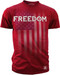 Men's Freedom Tee - American Pride - Freedom T-shirt Red