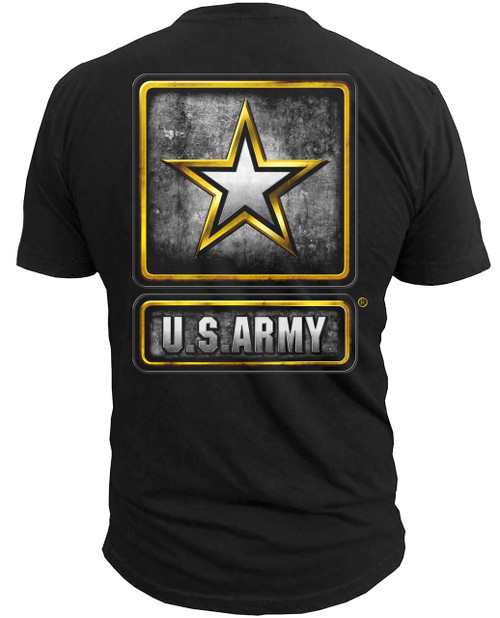 Army Logo (Back) T-Shirt