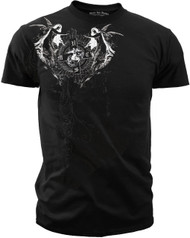 USMC - Angels of Death - Men's T-Shirt Black