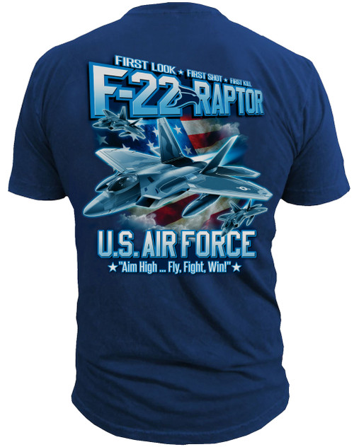 U.S. Air Force F-22 Raptor T-Shirt - Men's T-Shirt