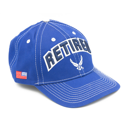 U.S. Air Force Retired Embroidered Cap (MC763) Front