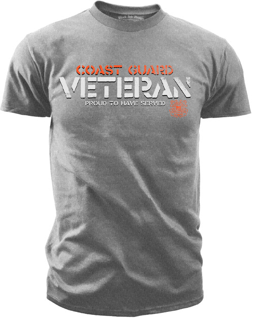 U.S. Army Coast Guard - Proud to Have Served T-Shirt - front