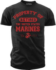Property of the U.S. Marine Corps - Retired front