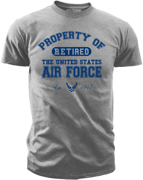 Property of the U.S. Air Force - Retired Front